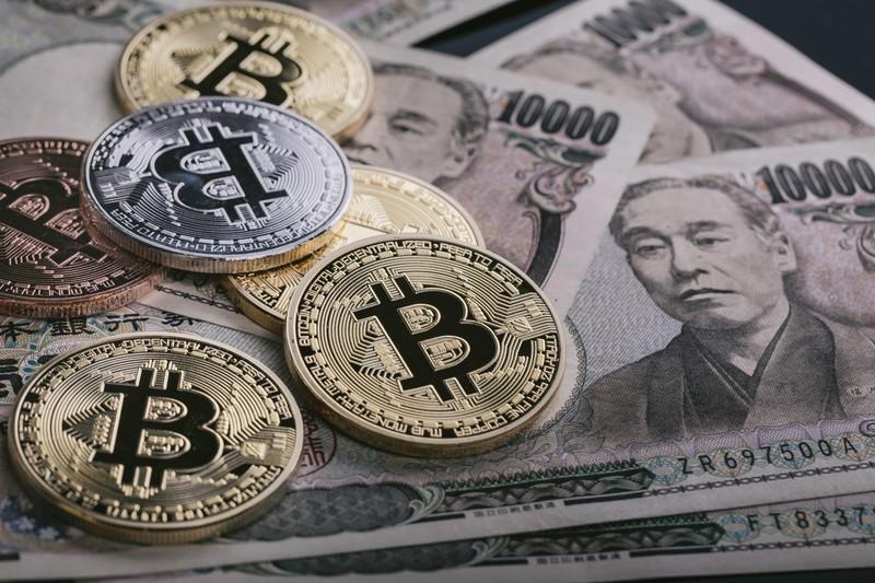 仮想通貨から日本円に換金