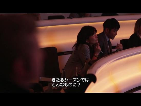 新車発表会に参加している元ホンダ広報の糸賀晶子さん