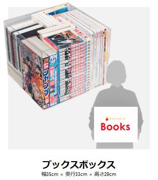 ブックスプランで預けられる本の量