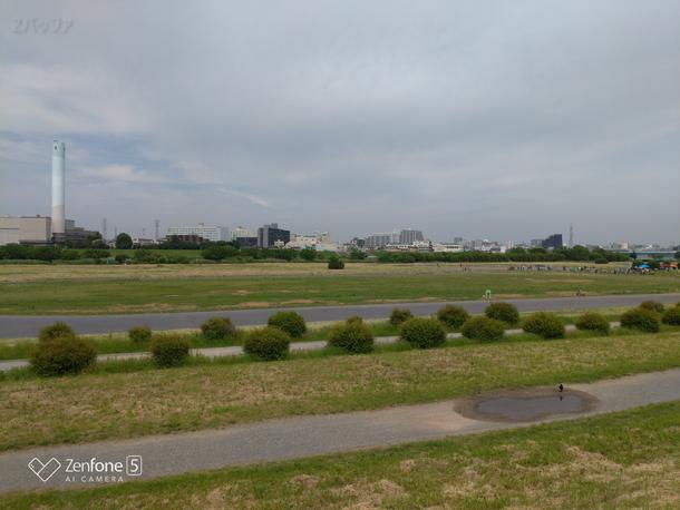 Zenfone5のメインカメラで撮影した風景写真