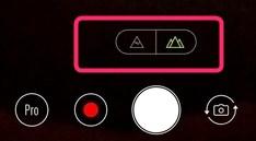 Zenfone5のメインカメラと広角レンズカメラの切替