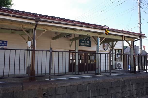 東岩瀬駅の駅舎