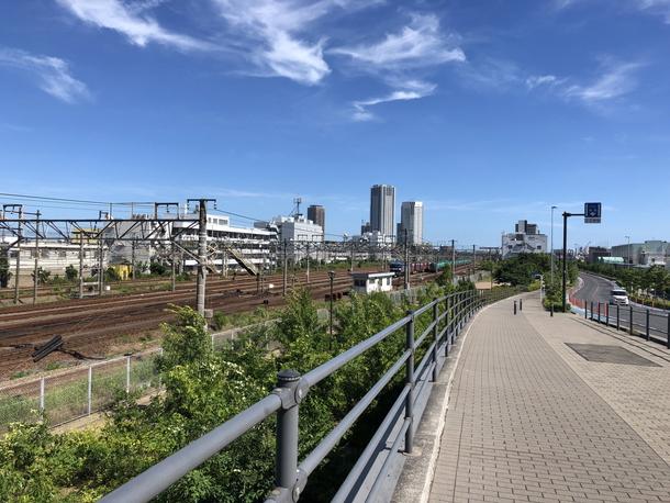 iPhone8のカメラで撮影した景色写真
