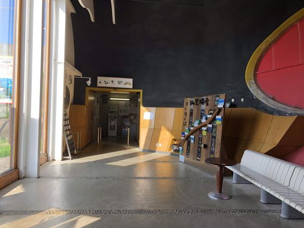 くびき駅内部