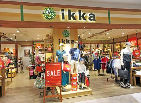 ファミリーファッションブランドのIKKA