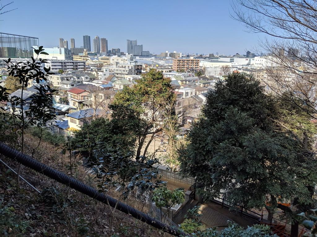Pixel 3で撮影した街風景