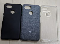 Pixel3のケース比較