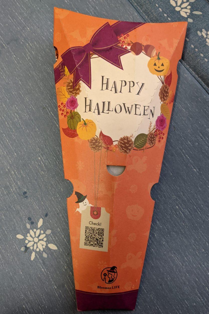 ブルーミーライフのハロウィンパッケージ