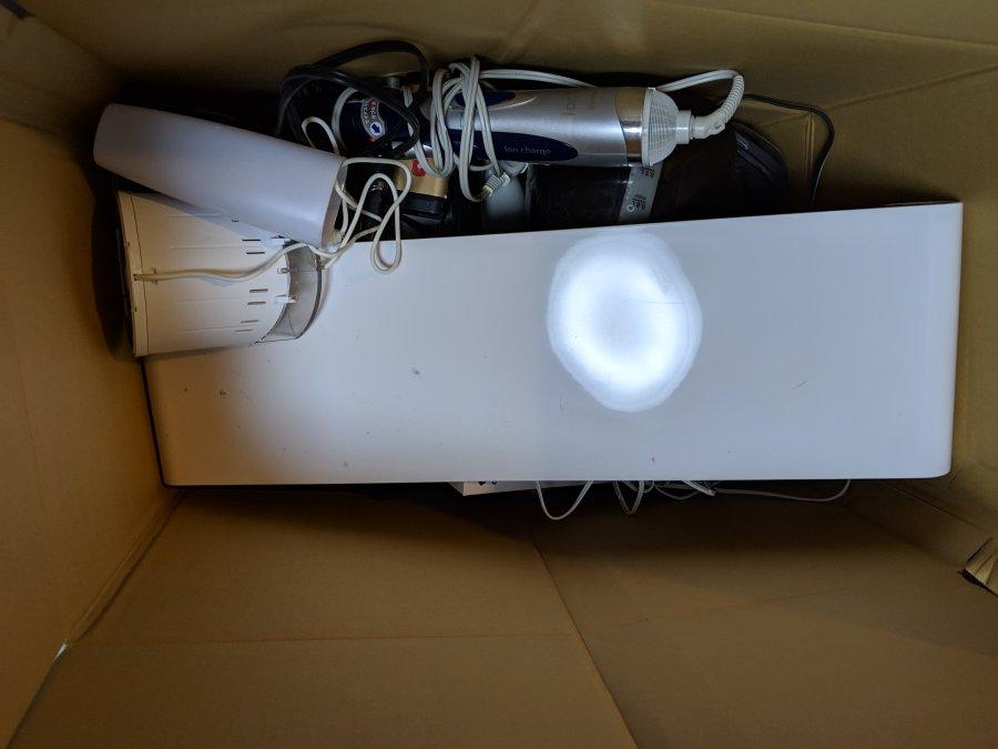 リネットジャパンでドライヤーや充電ライトなどを廃却
