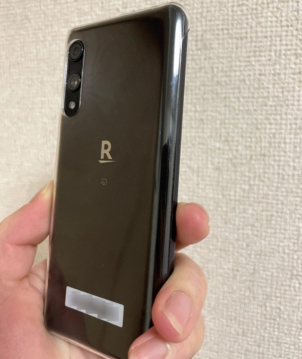 Rakuten Handのカメラ